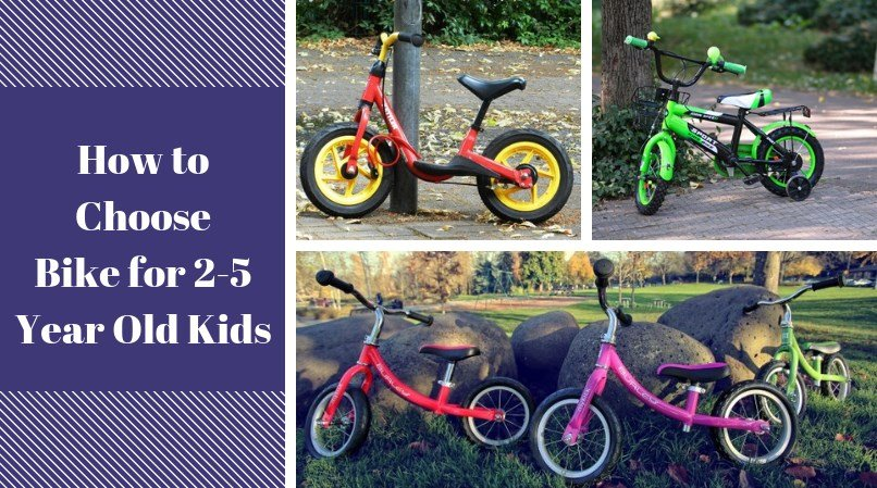How to Choose a Bike for a 2 to 5-Year-Olds