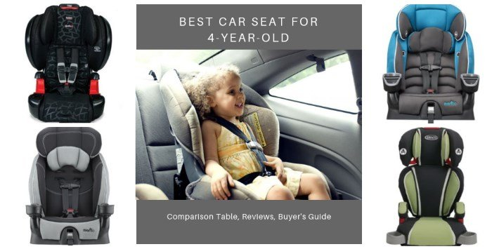 Best Car Seat for 4-Year-Olds in 2020