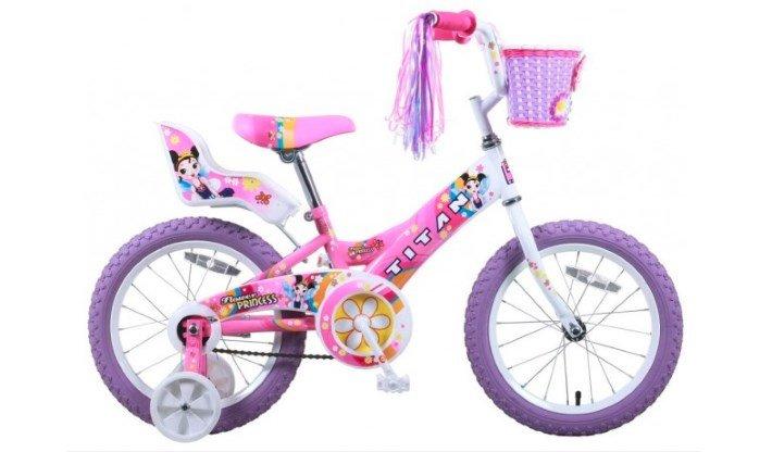Titan Girl's Flower Princess BMX Bike Review