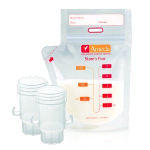 Ameda Store'N Pour™ Breast Milk Storage Bags Review
