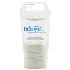 Dr. Brown's 100 Piece Breastmilk Storage Bags Review