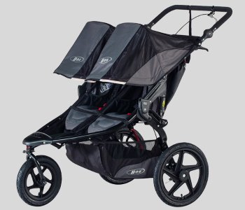 BOB Gear Revolution Pro Duallie Jogging Stroller - Best Double Jogging Stroller