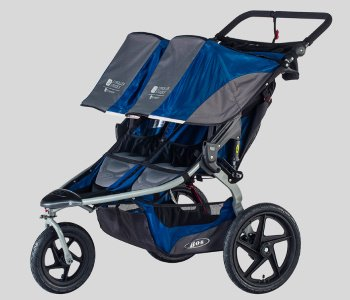 BOB Stroller Strides Fitness Duallie Jogging Stroller – Best Double Jogging Stroller for Runners
