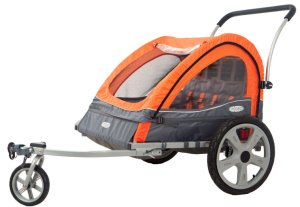 Instep Quick-N-EZ Double Jogger Stroller Review