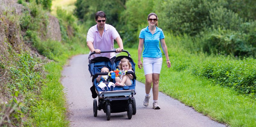 Best Lightweight Double Stroller for Travel and for Walking